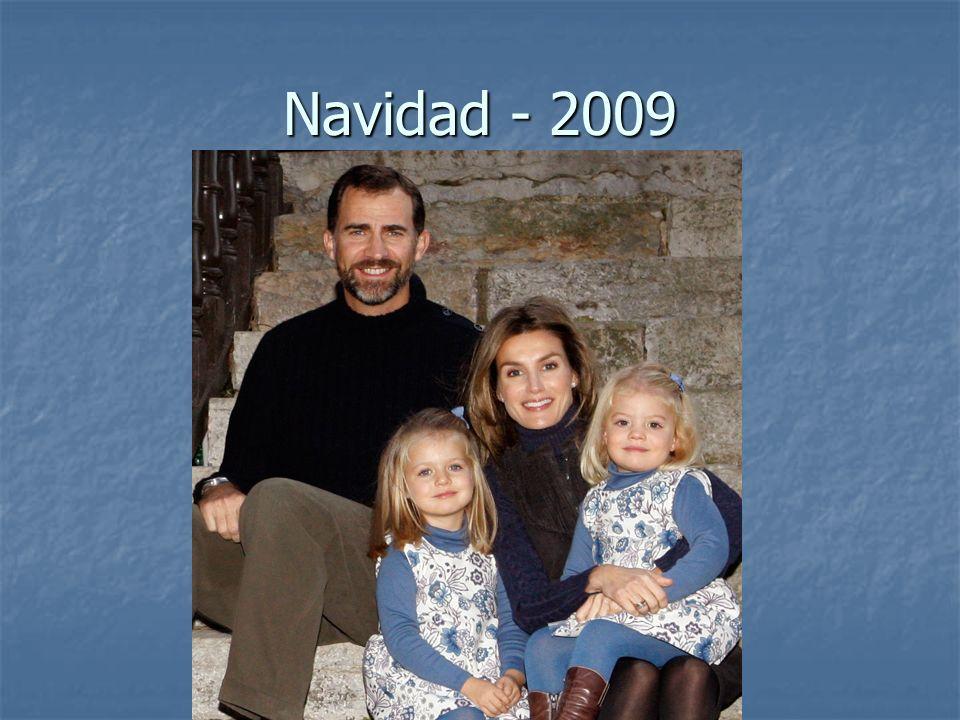 El Rey abuelo Don Juan Carlos tiene ocho nietos.