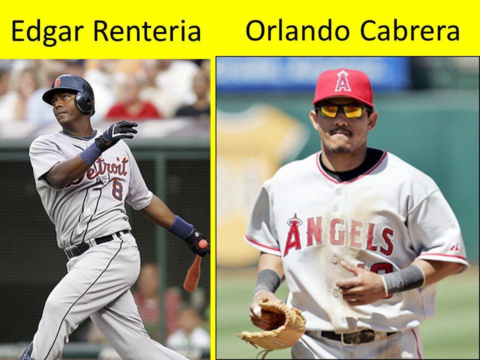 Edgar Renteria Orlando Cabrera