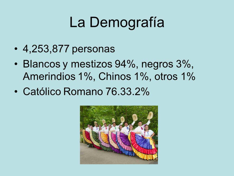 La Lengua Lengua oficial: español Otras: ingles, criollo, y algunos amerindios Enseñan ingles, francés, y portugués en las escuelas.