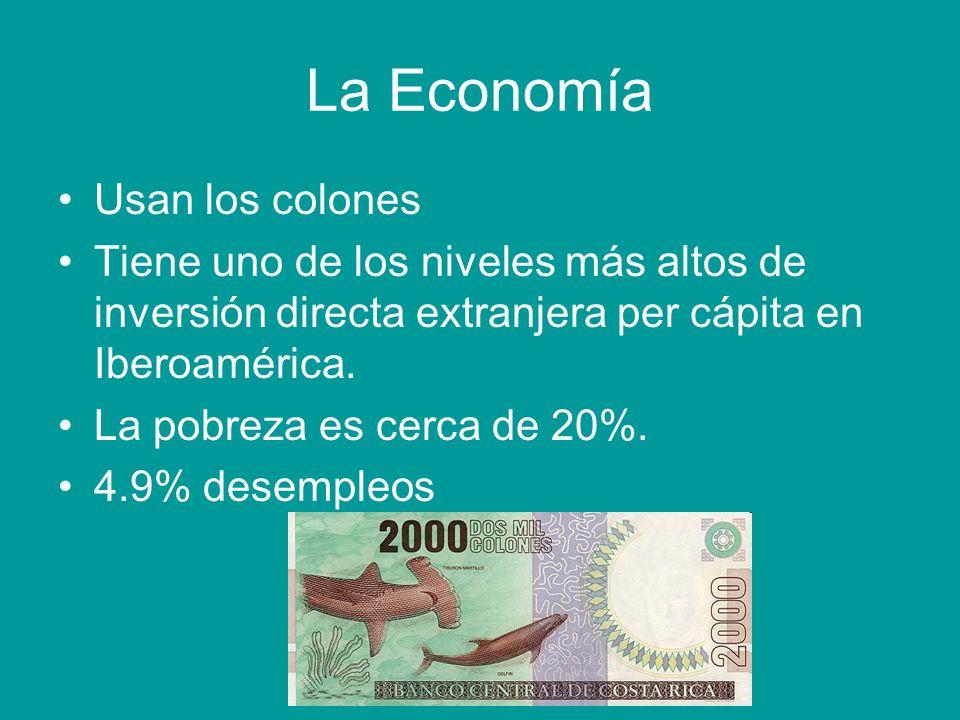 La Economía Cont.