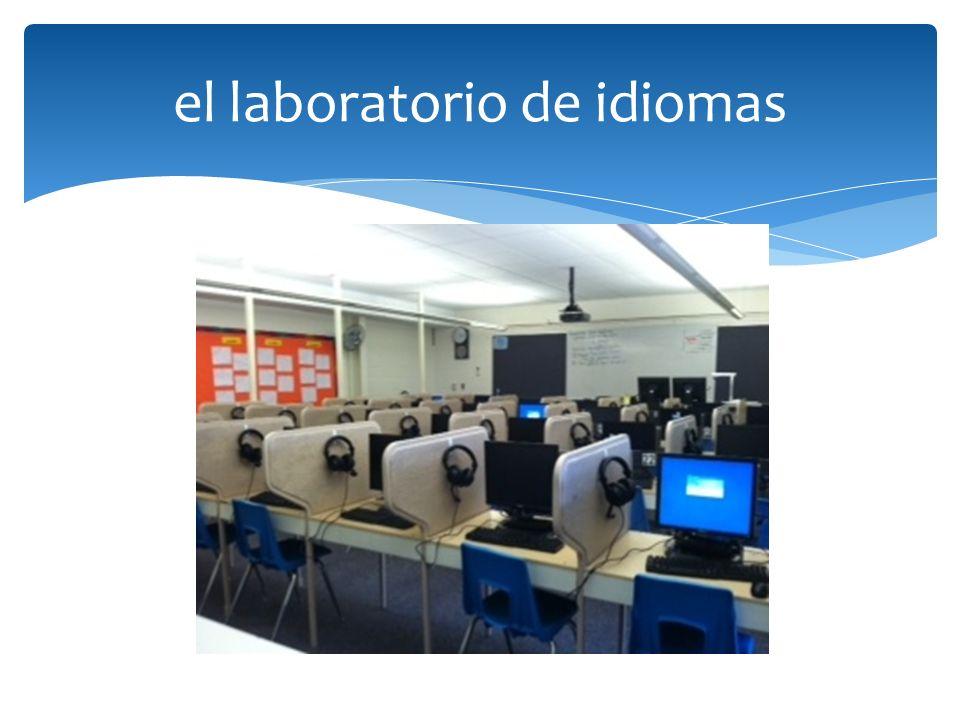 el laboratorio de idiomas