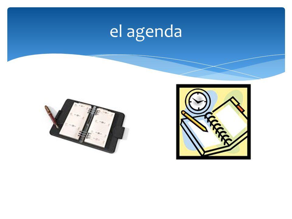 el agenda