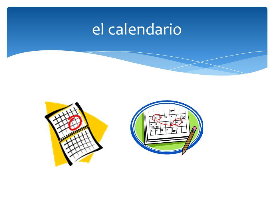 el calendario