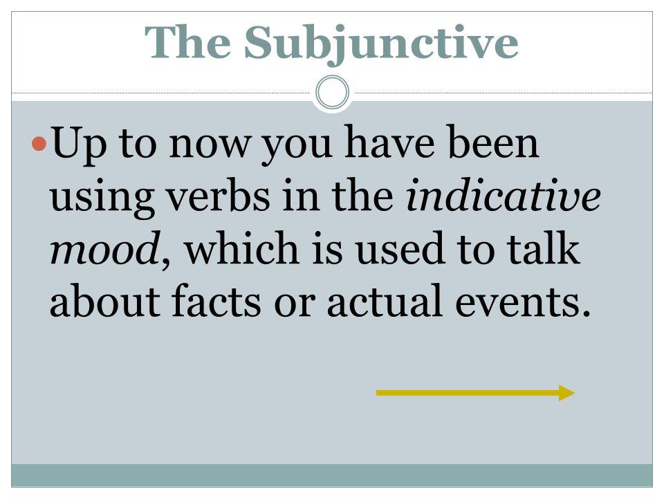 Irregular Subjunctive Verbs hacer hag-ohaga tener teng-otenga