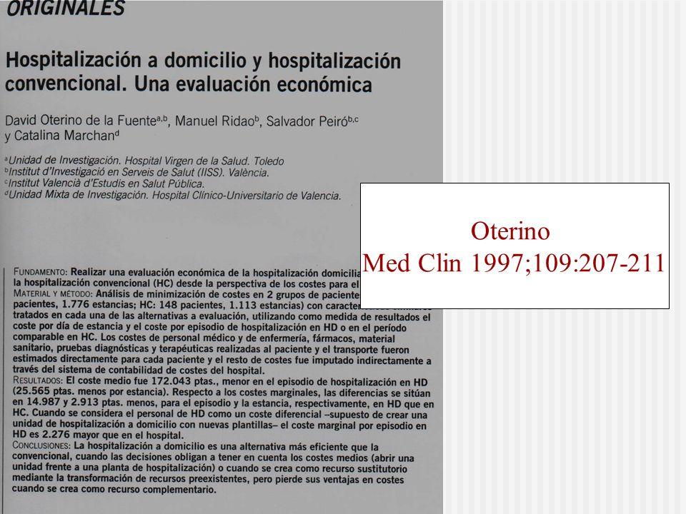 Oterino Med Clin 1997;109:207-211
