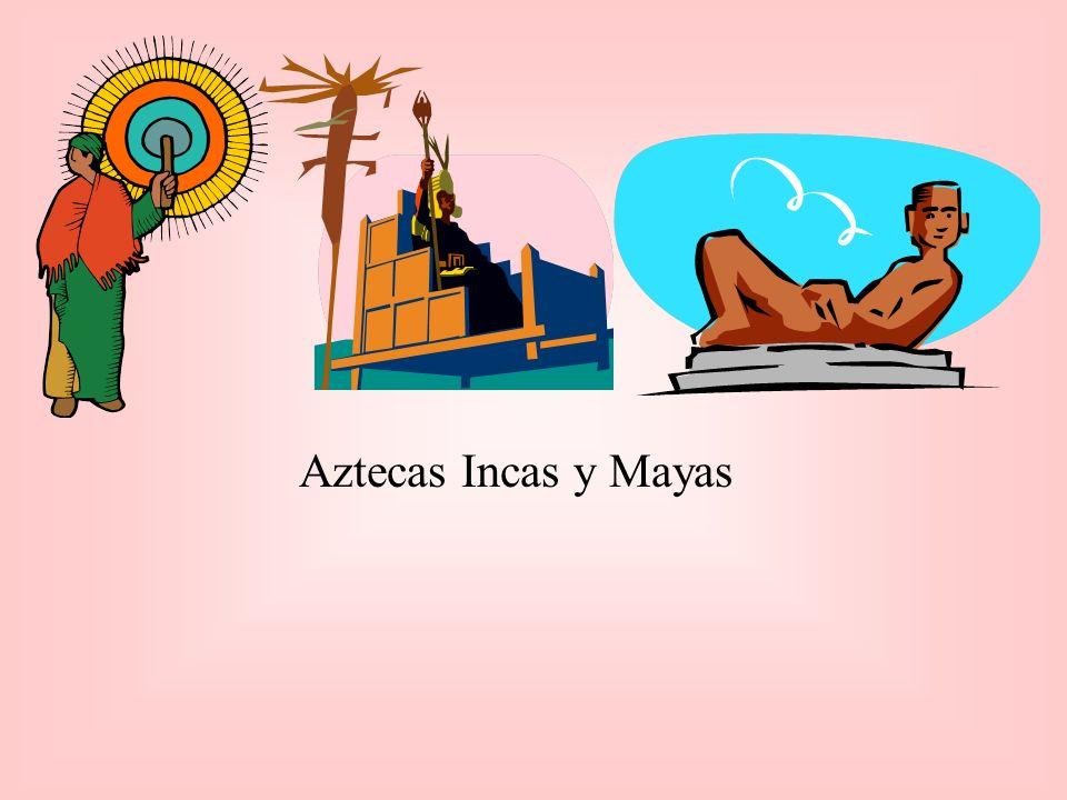 Cultura Azteca La escultura mas famosa es el calendario de piedra que representa el universo Azteca.