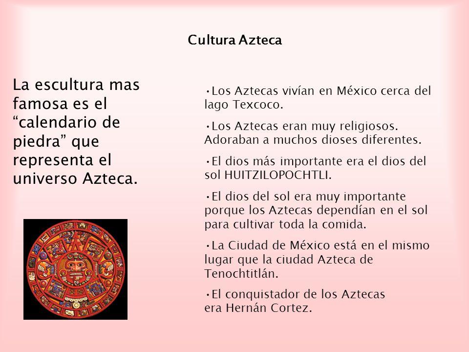 Esta es una pintura del díos del sol: Las Aztecas sacrificaban personas para los dioses.