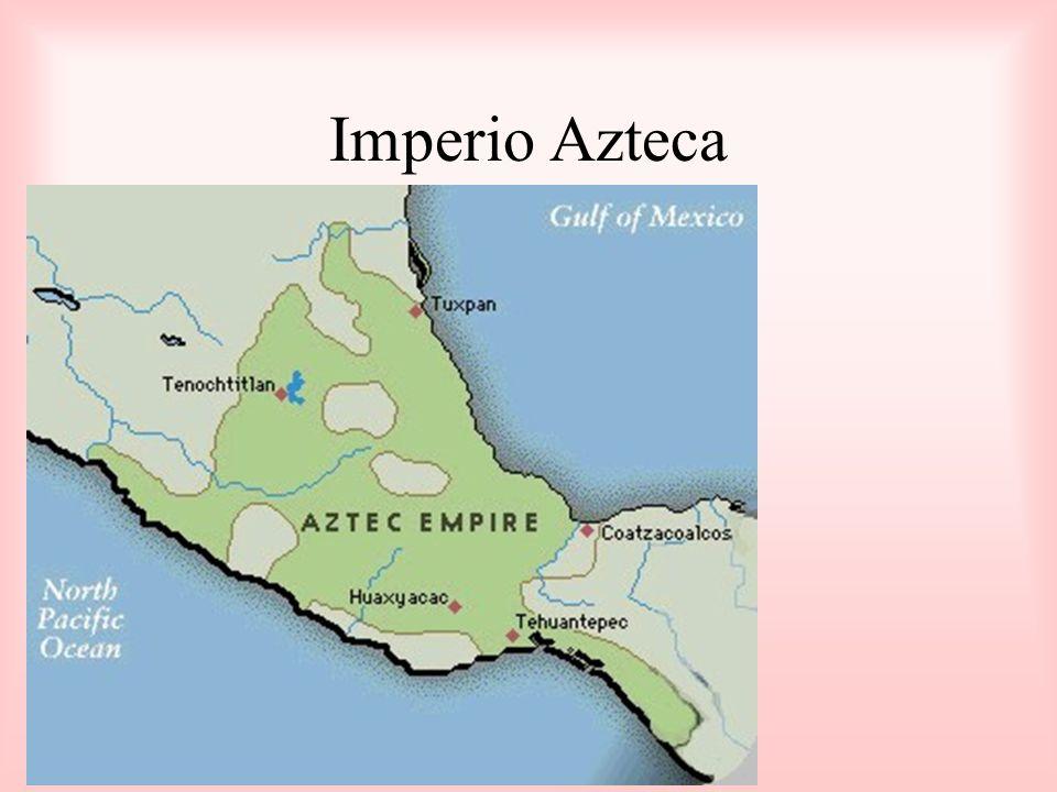 Los Aztecas no tenían mucha tierra buena para cultivar.