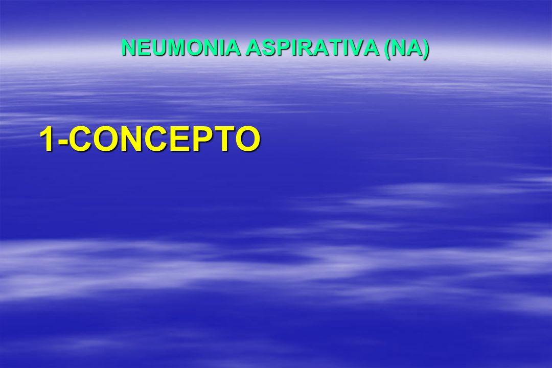 NEUMONIA ASPIRATIVA (NA) 1-CONCEPTO
