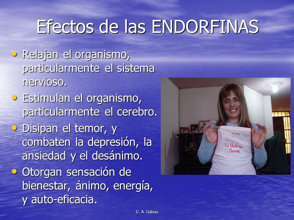 C. A. Gálvez Grandes productores de endorfinas Líderes que impactaron en la humanidad fueron grandes productores de endorfina Líderes que impactaron e