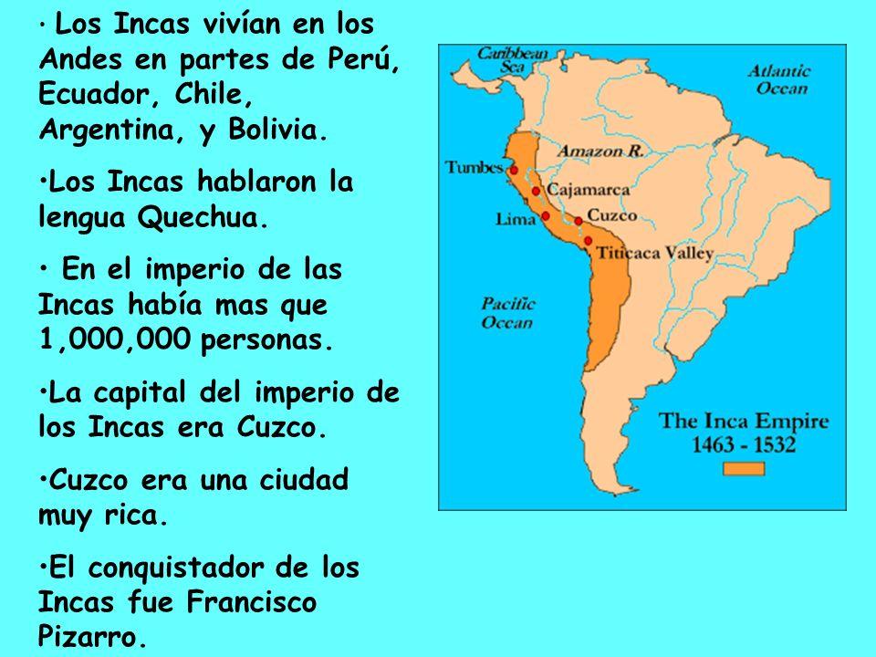 Los Incas eran arquitectos muy buenos.