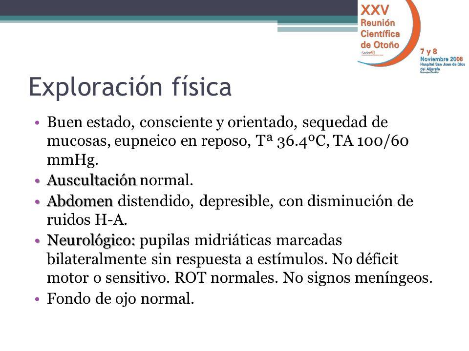 Síndrome anticolinérgico S.