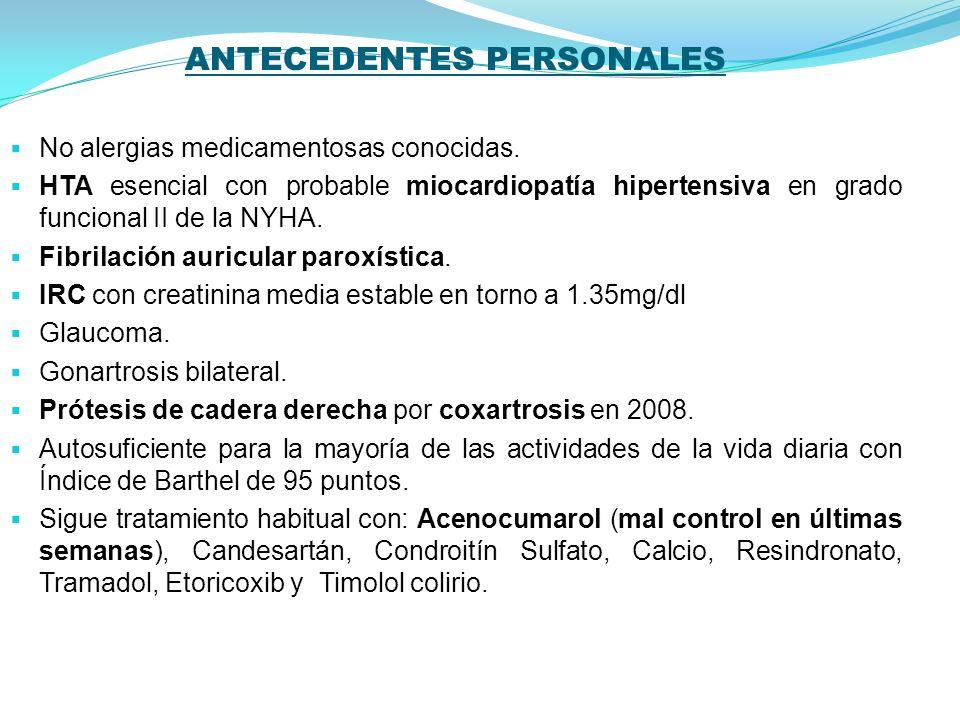 En seguimiento desde hace 1 año por Polimialgia Reumática, en tratamiento con 30mg de Prednisona oral diarios (No biopsia de la arteria temporal).