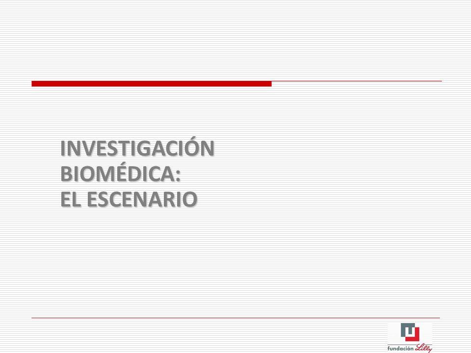 INVESTIGACIÓN BIOMÉDICA: EL ESCENARIO