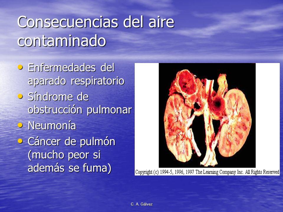 C. A. Gálvez Nuestro aire amenazado Por la contaminación del humo de las grandes industrias Por la contaminación del humo de las grandes industrias Po