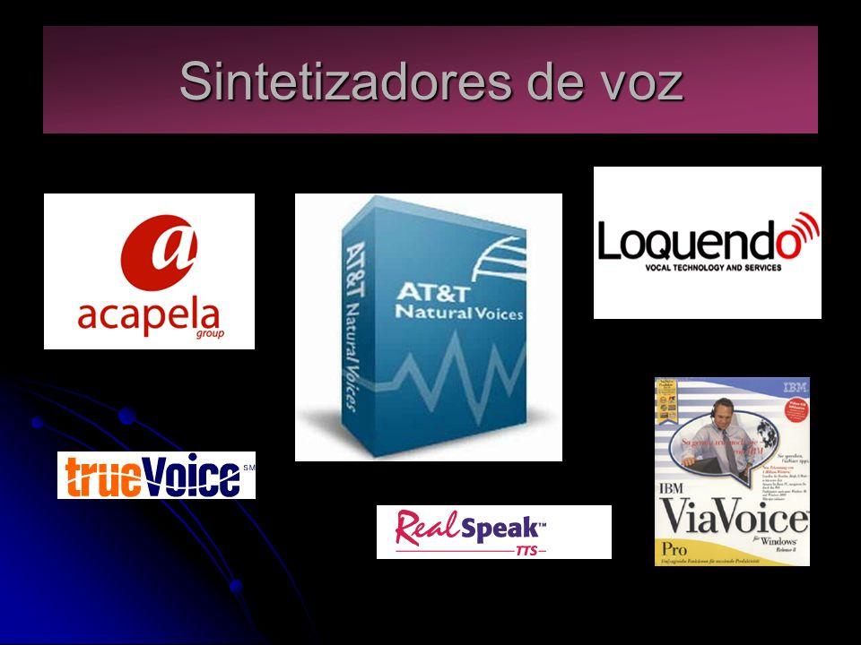 Sintetizadores de voz
