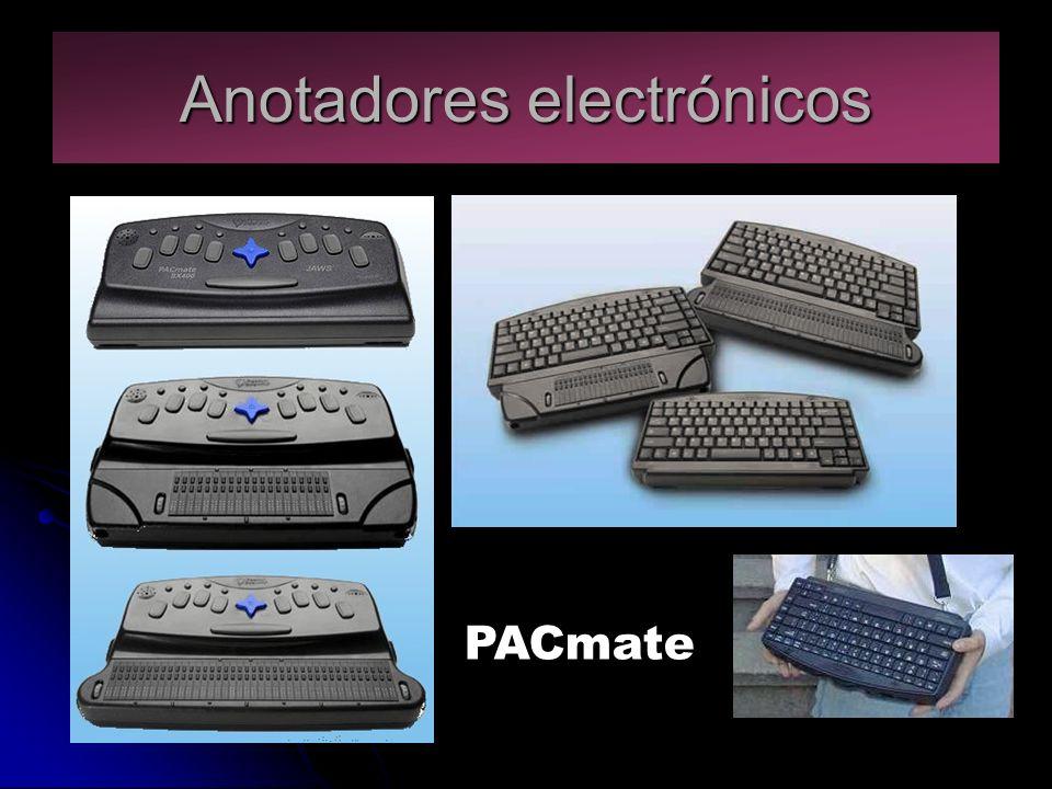 Anotadores electrónicos PACmate