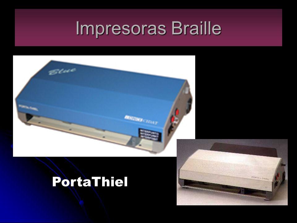 Impresoras Braille PortaThiel