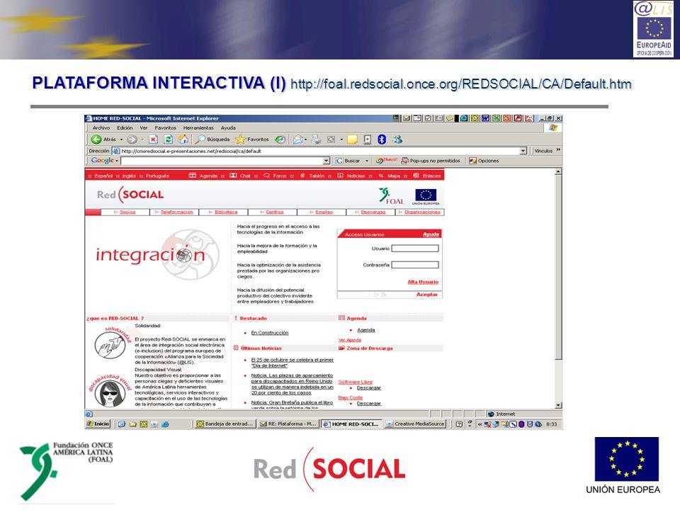 100% accesible para las personas ciegas En castellano, portugués.