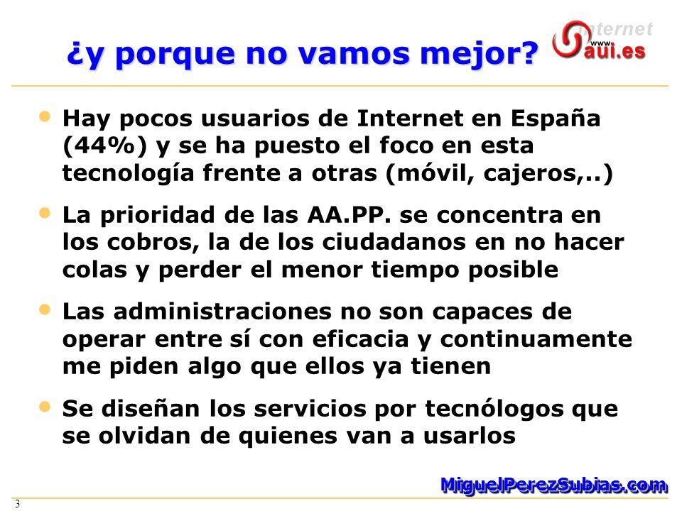 3 MiguelPerezSubias.comMiguelPerezSubias.com 3 ¿y porque no vamos mejor.