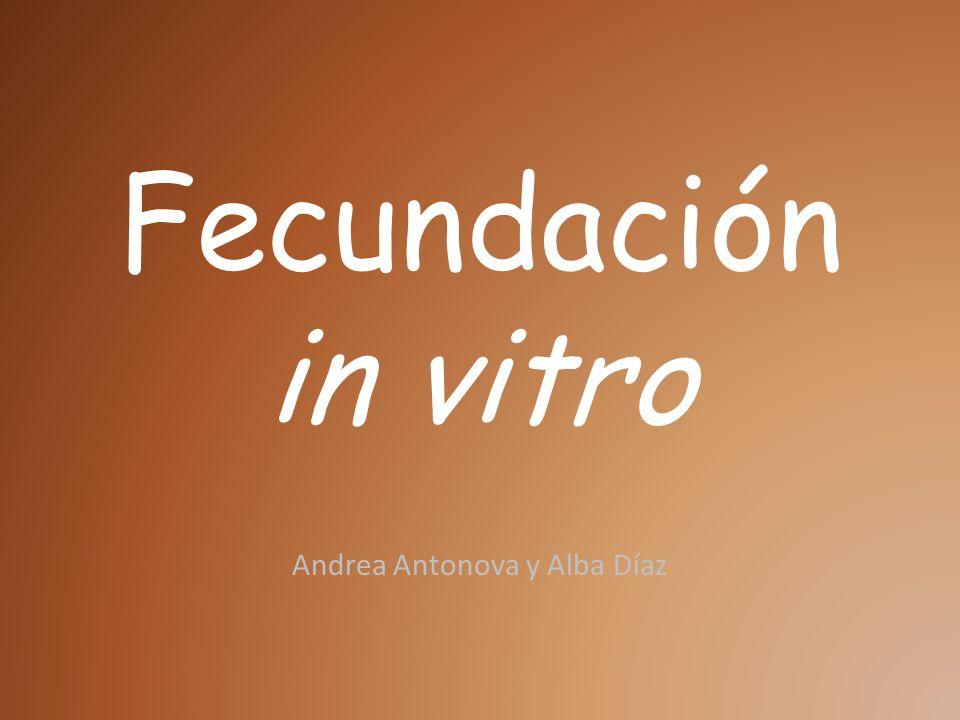 Fecundación in vitro Andrea Antonova y Alba Díaz