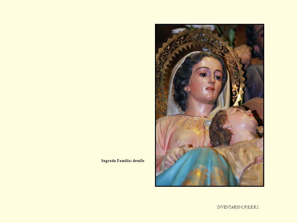 INVENTARIO C.P.E.E.R.I. Sagrada Familia: detalle