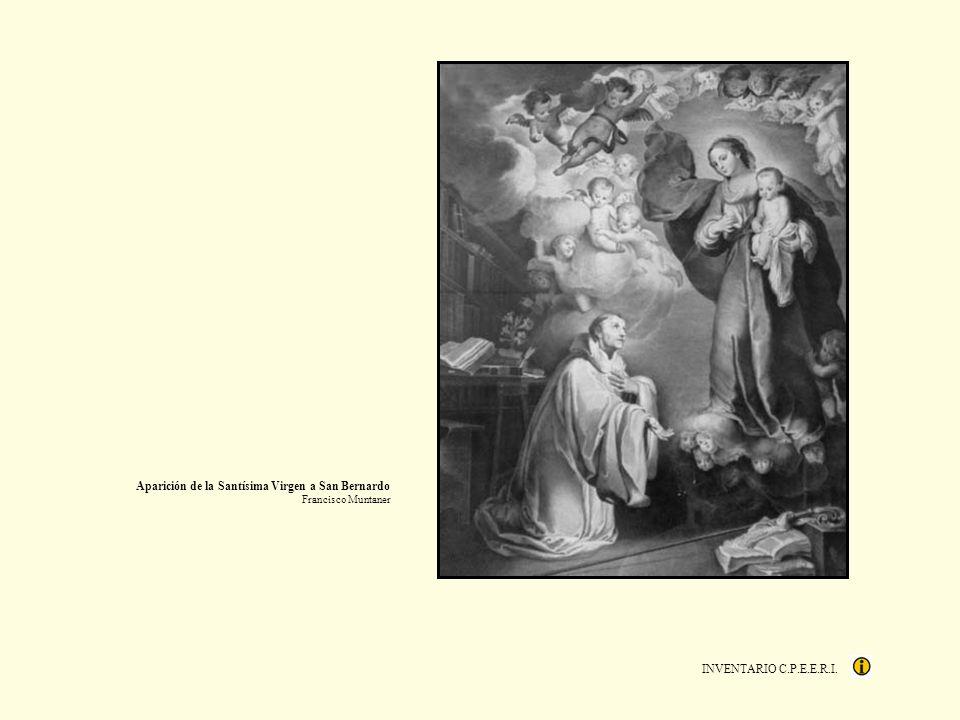 INVENTARIO C.P.E.E.R.I. Aparición de la Santísima Virgen a San Bernardo Francisco Muntaner