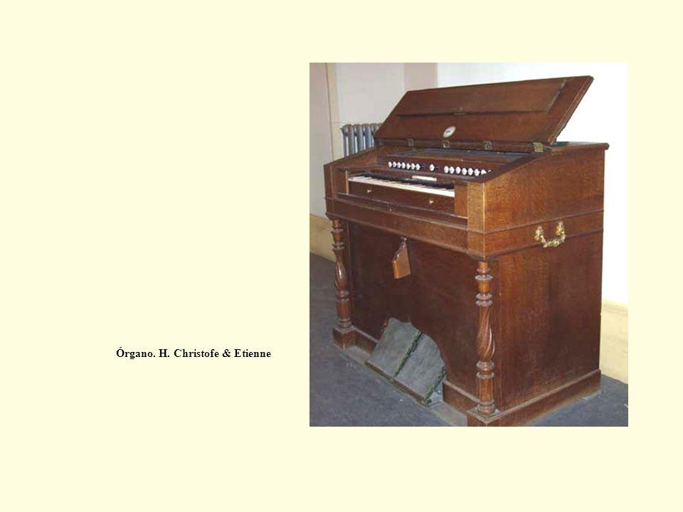 Órgano. H. Christofe & Etienne