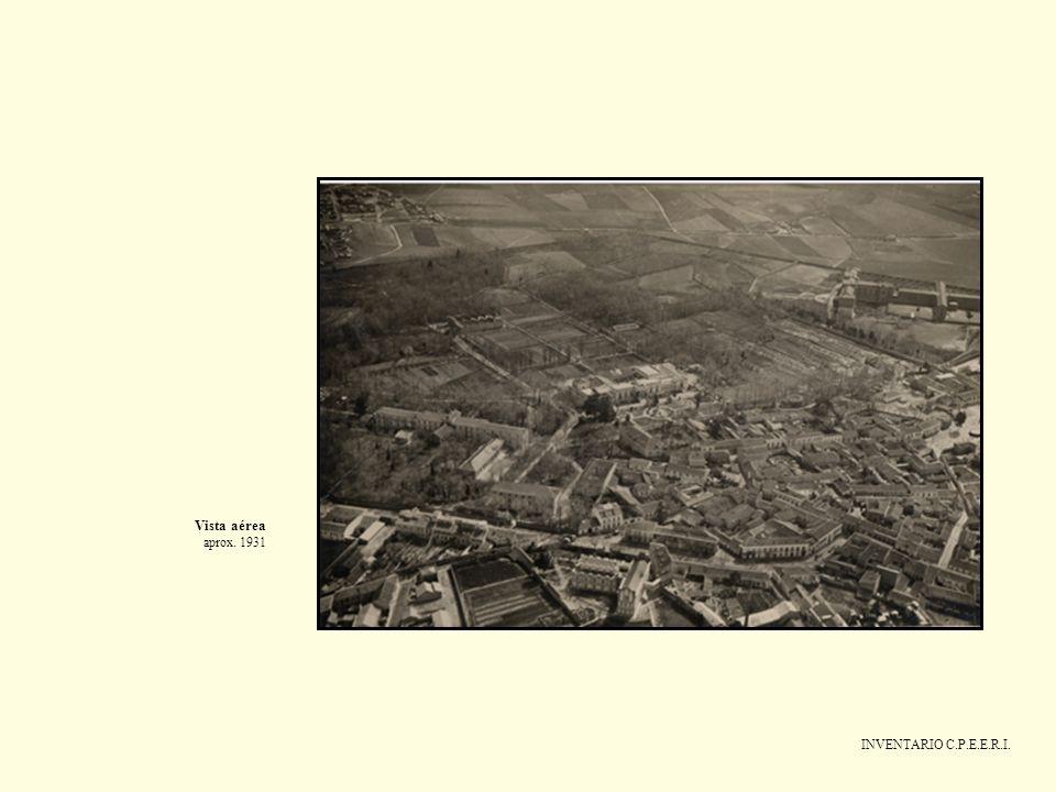 INVENTARIO C.P.E.E.R.I. Vista aérea aprox. 1931