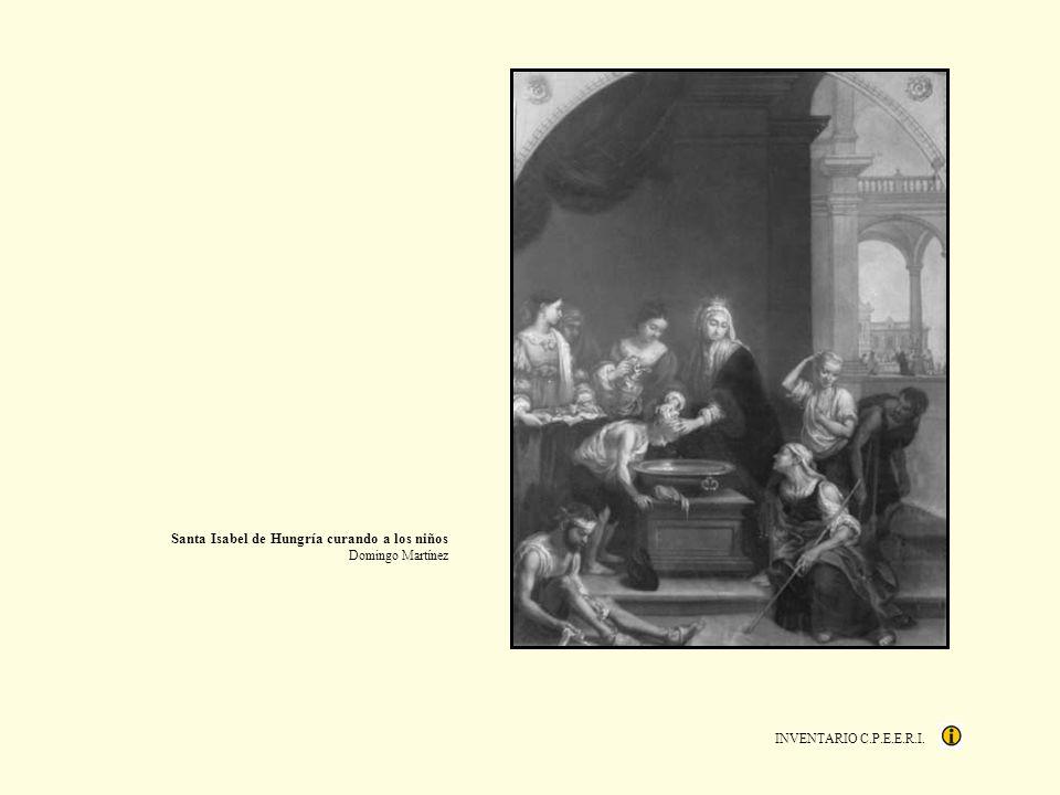 INVENTARIO C.P.E.E.R.I. Santa Isabel de Hungría curando a los niños Domingo Martínez