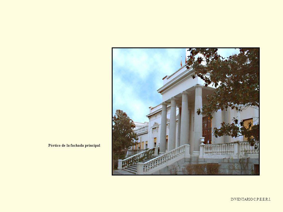 INVENTARIO C.P.E.E.R.I. Pórtico de la fachada principal