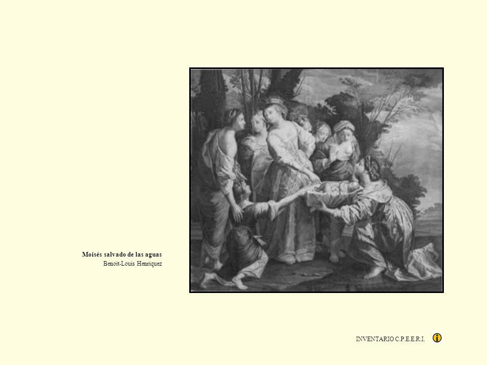 INVENTARIO C.P.E.E.R.I. Moisés salvado de las aguas Benoit-Louis Henriquez