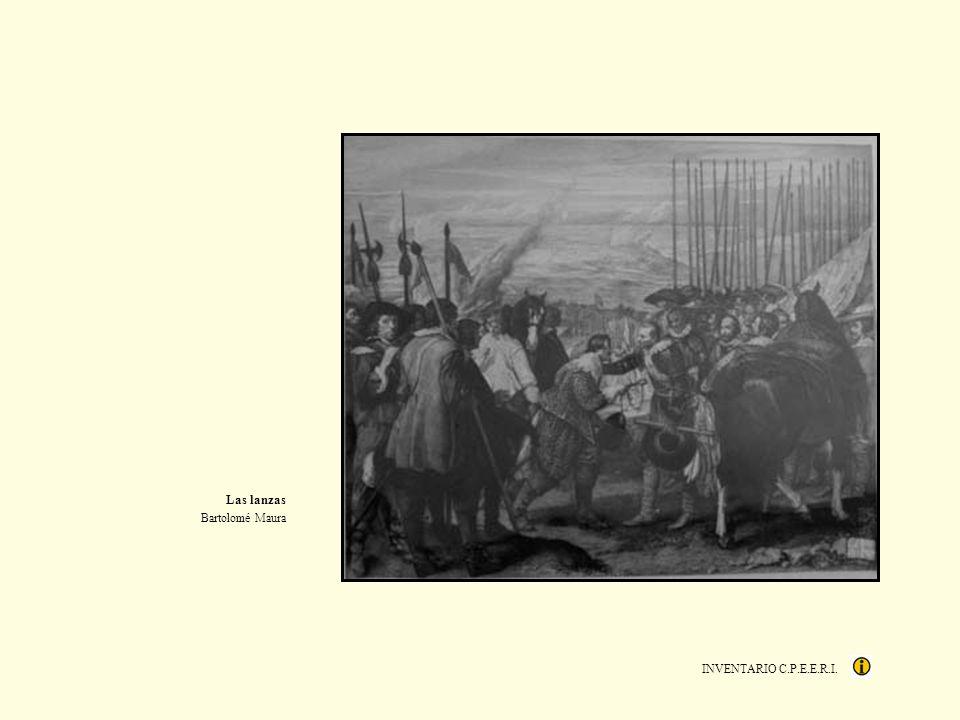 INVENTARIO C.P.E.E.R.I. Las lanzas Bartolomé Maura