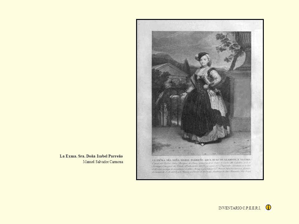 INVENTARIO C.P.E.E.R.I. La Exma. Sra. Doña Isabel Parreño Manuel Salvador Carmona