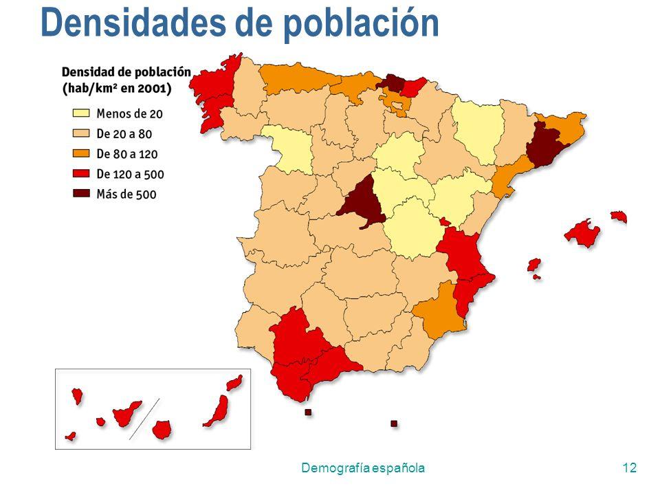 Demografía española12 Densidades de población