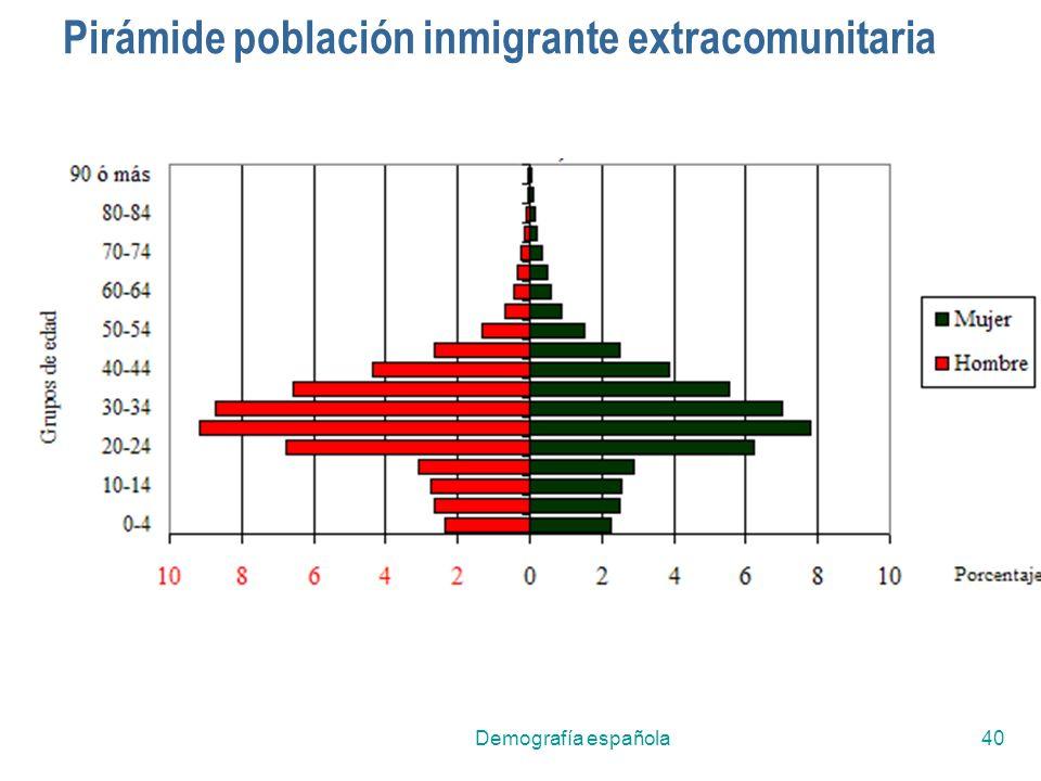 Demografía española40 Pirámide población inmigrante extracomunitaria