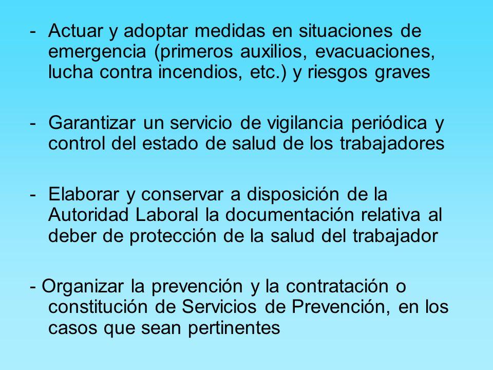Derechos del trabajador -Gratuidad de las medidas relativas a la seguridad y salud.
