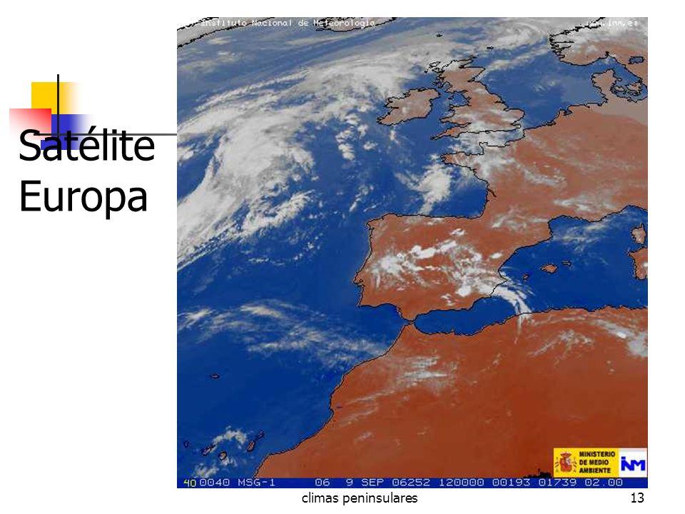 climas peninsulares13 Satélite Europa