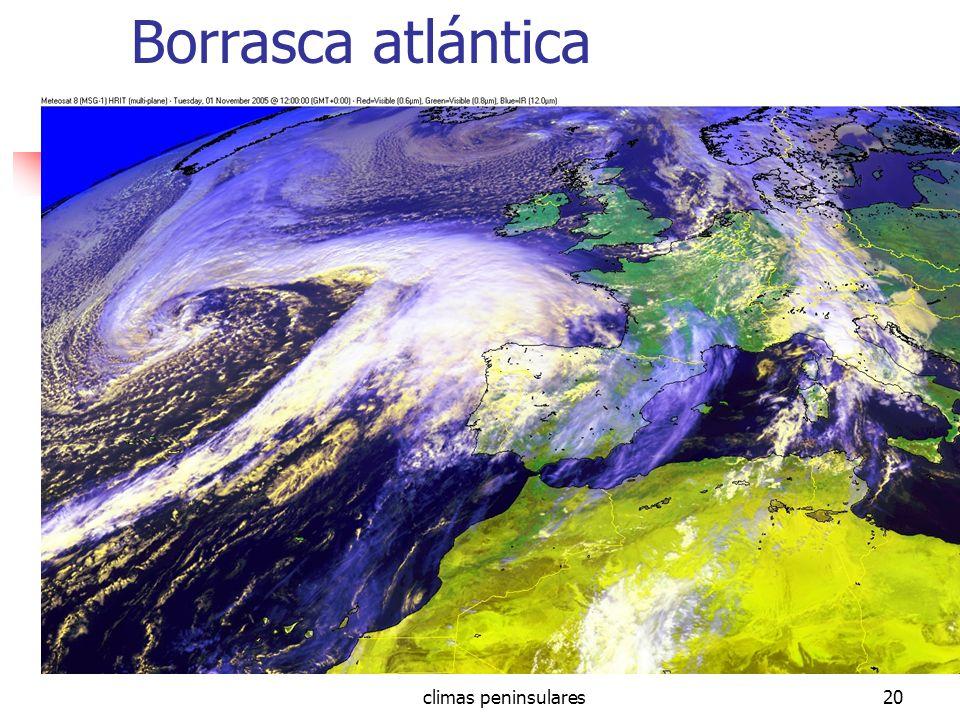 climas peninsulares20 Borrasca atlántica