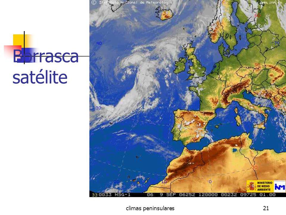 climas peninsulares21 Borrasca satélite