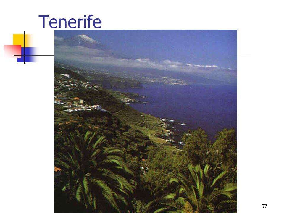 climas peninsulares57 Tenerife