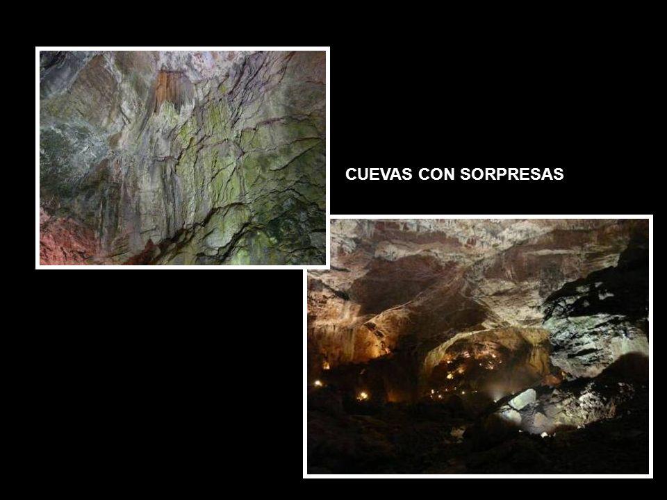 CUEVAS CON SORPRESAS