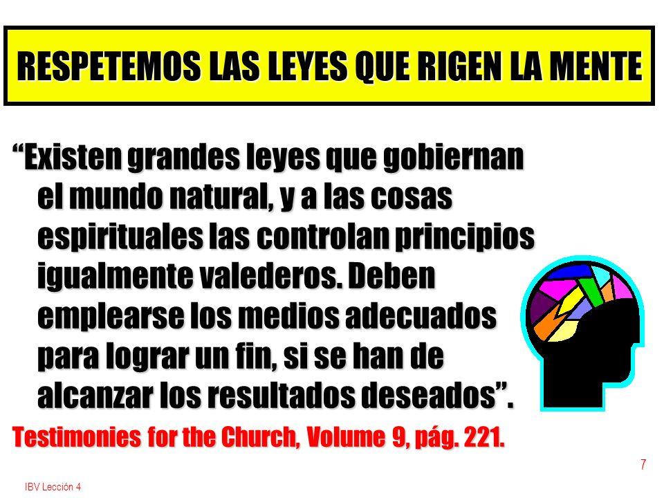 IBV Lección 4 8 LOS CUATRO NIVELES BÁSICOS DE LA DECISIÓN b 1.
