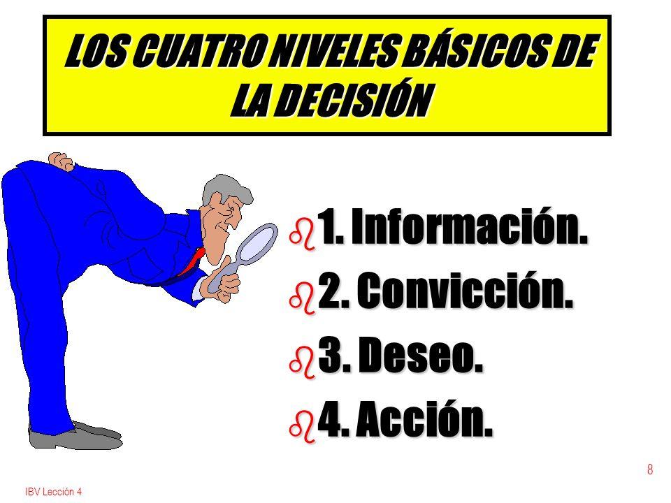 IBV Lección 4 9 LOS ADVENTISTAS HEMOS SIDO b b Fuertes para dar información.