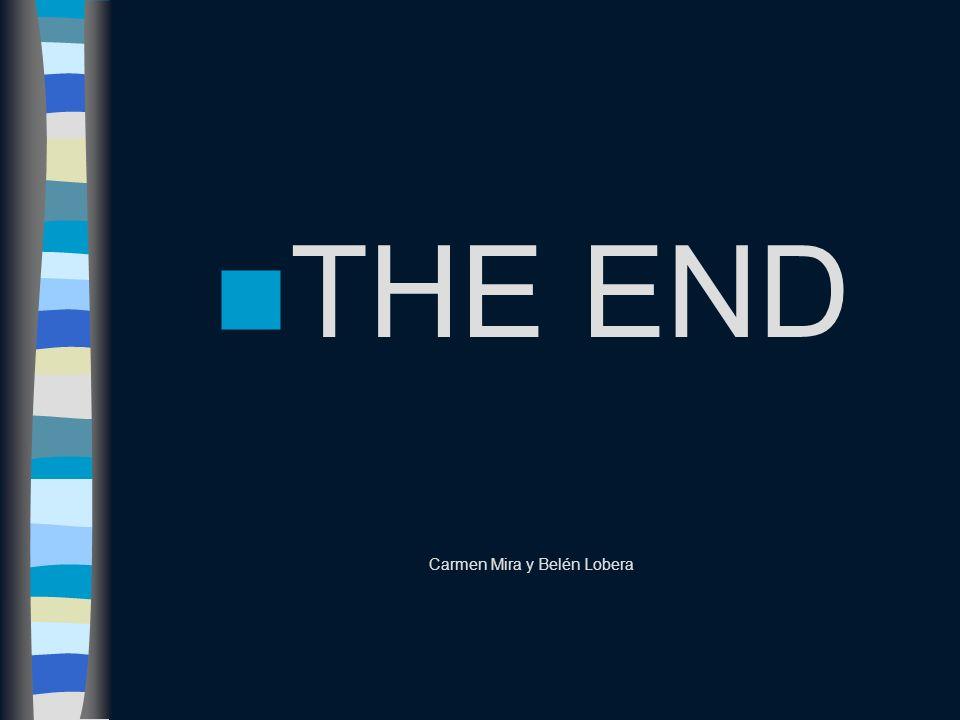 THE END Carmen Mira y Belén Lobera