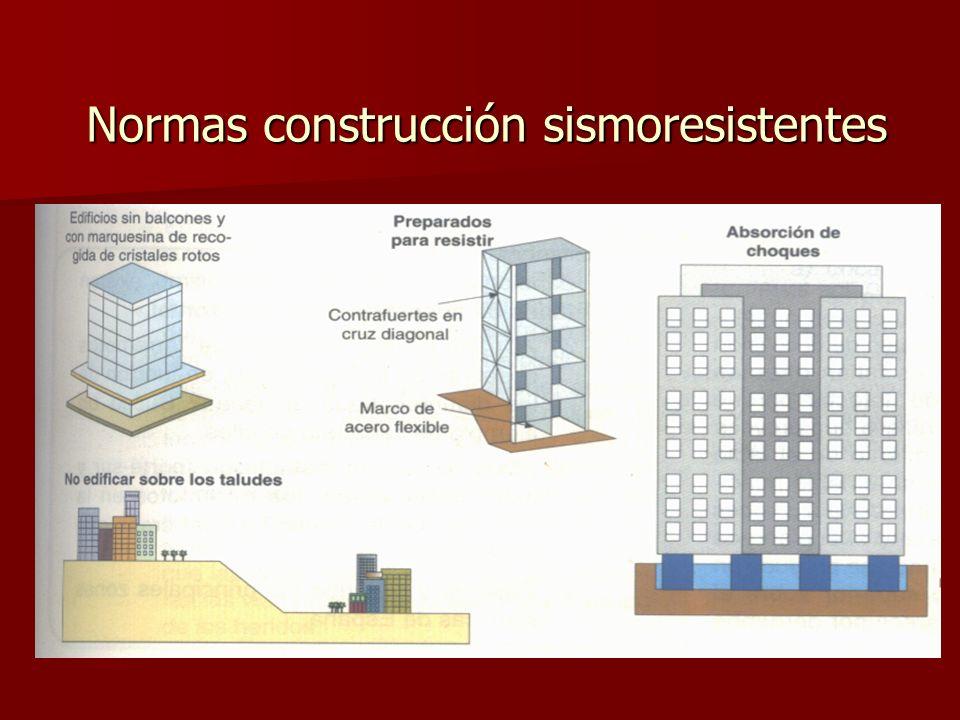 Normas construcción sismoresistentes