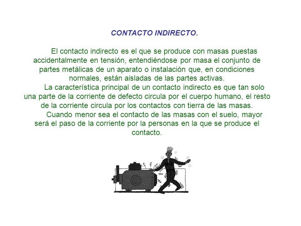 3.3.- MEDIDAS DE SEGURIDAD CONTRA RIESGOS ELECTRICOS.