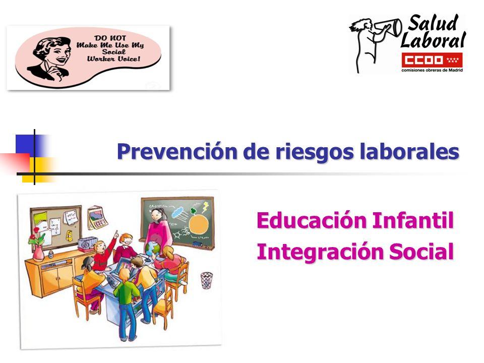 Prevención de riesgos laborales Educación Infantil Integración Social