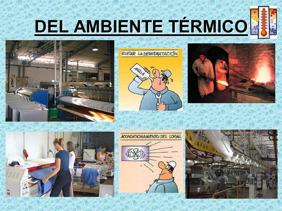 DEL AMBIENTE TÉRMICO