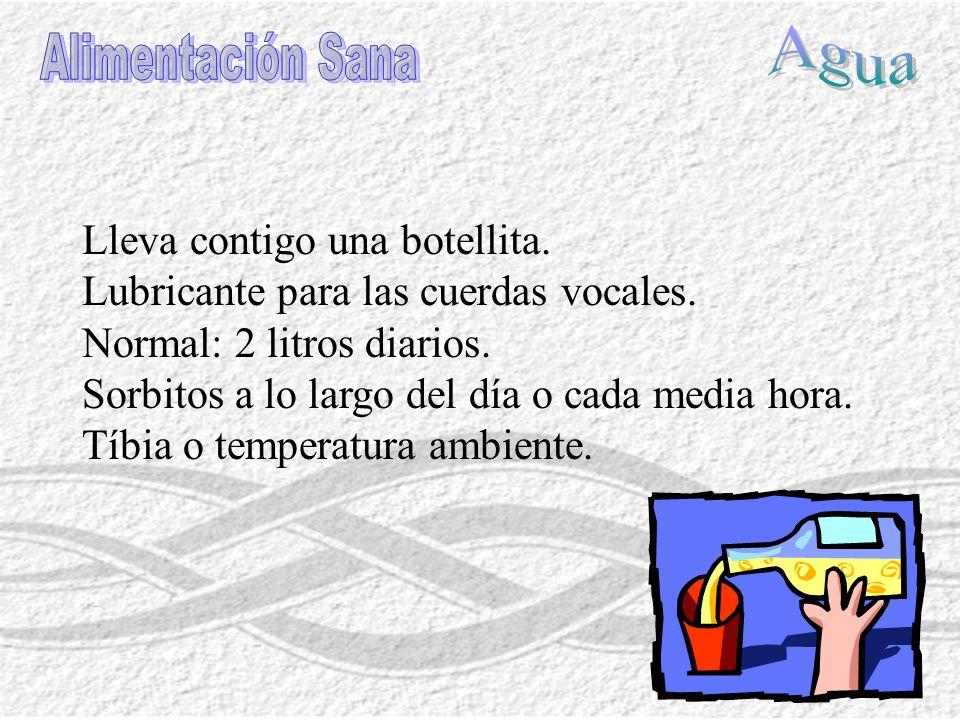 Vegetaciones adenoideas Operado de pólipos: reposo vocal selectivo.